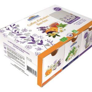 coffret infusions 40 sachets Biofloral tasse offerte